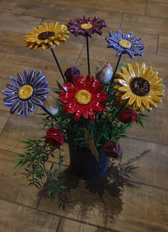 Keramieken bloemen
