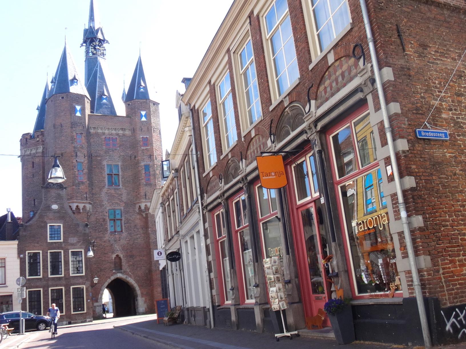sassenstraat voorkant toren